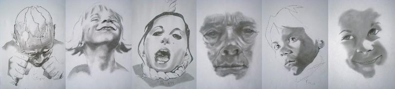 Fineliner-Zeichnungen von Stefan Koschitzki